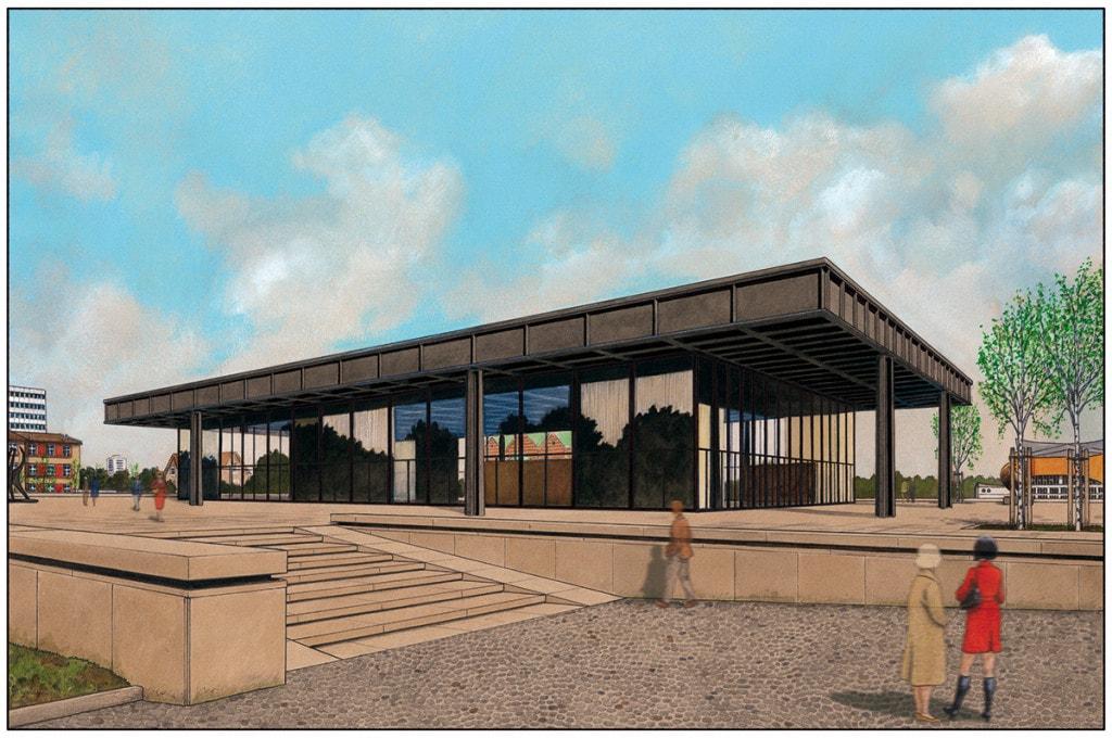 Mies van der Rohe, un padre de la arquitectura moderna