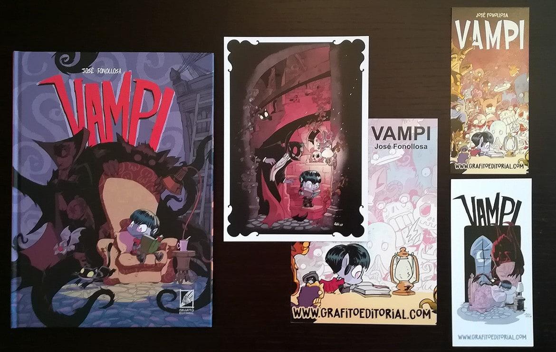 comic vampi infantil las aventuras de la hija del conde drácula