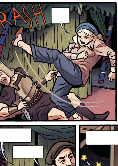 Objetivo Hedy Hamarr, un cómic de acción, espionaje y ciencia