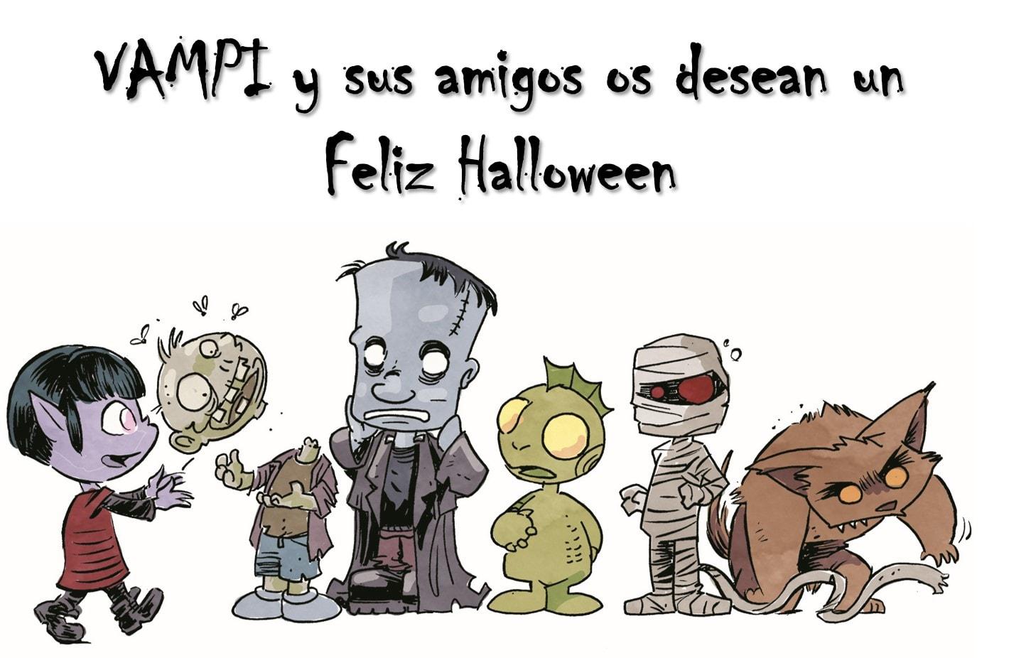 Vampi Halloween Comic
