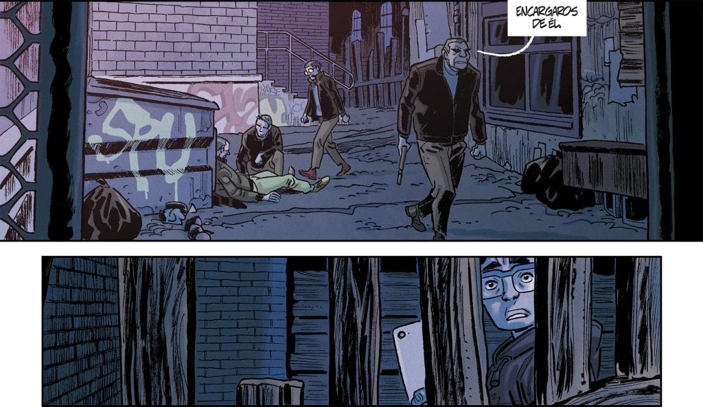 Asesinatos en el cómic Adicción ¿Es posible ser adicto a el peligro?