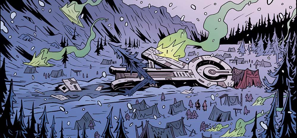 naves espaciales y vikingos