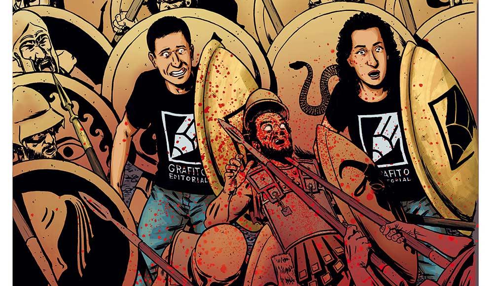 GRAFITO EDITORIAL PRESENTA es un cómic gratuíto lleno de buenas historias y cómics cortos.