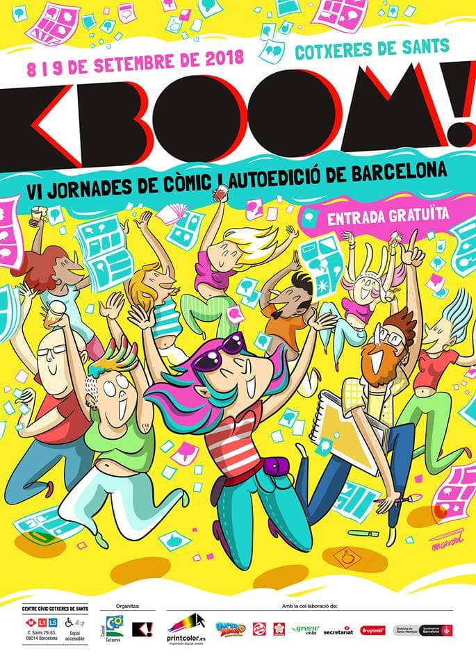 jornadas kboom comic