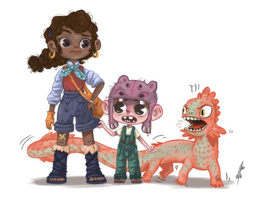 Mik y Sue son los protagonistas del cómic Viaje a Xambala