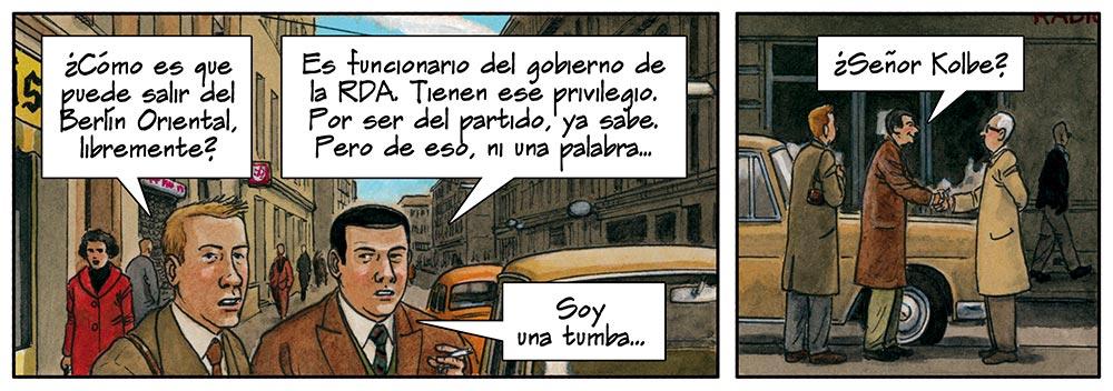 Cómic sobre Mies van der Rohe dibujado por Agustín Ferrer Casas. PDF DESCARGAR GRATIS